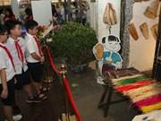 许多传统文化活动在升龙皇城举行