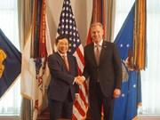 越美两国将继续促进经贸、投资和防务合作