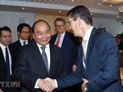 越南政府总理阮春福会见挪威领先集团代表
