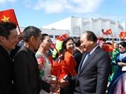 越南政府总理阮春福圆满结束对挪威王国进行的正式访问