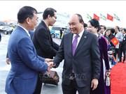 越南政府总理阮春福圆满结束对瑞典的正式访问之旅