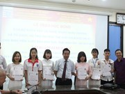21名越南优秀大学生荣获德国黑森奖学金