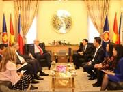 越南与捷克配合推动展开经济合作