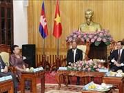 柬埔寨王国国会主席访问河南省
