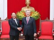 陈国旺同志会见柬埔寨国会高级代表团