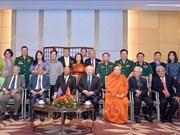 柬埔寨国会主席韩桑林圆满结束对越南的正式访问