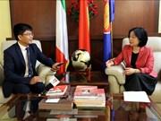 越南与意大利关系呈现积极的发展态势