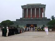 胡志明主席陵6月14日起暂停对公众开放
