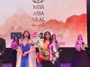 俄罗斯乌拉尔亚洲选美比赛越南佳丽喜获季军