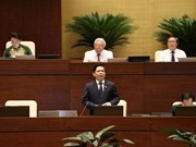 越南第十四届国会第七次会议:交通运输部就进度迟缓的交通项目作报告