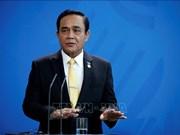 越南总理向泰国总理致贺电
