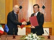 越南与意大利签署教育合作行动计划