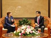 越南政府副总理武德儋会见联合国儿童基金会驻越首席代表