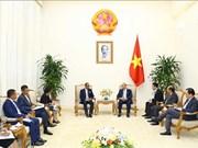 阮春福会见东帝汶外交与合作部部长苏亚雷斯