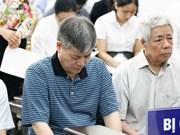 河内市人民法院开庭审理Vinashin集团滥用职权侵吞银行存款利息额外款项案件
