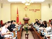 加强越南与捷克劳务合作