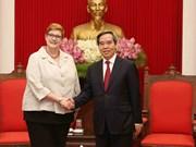 越南愿与澳大利亚加强战略合作