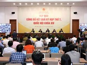 第十四届国会第七次会议新闻发布会在河内举行