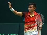 越南男子网球队力争晋级戴维斯杯亚洲及大洋洲区第二组