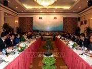 胡志明市与老挝万象加强党建工作合作