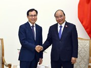 阮春福:三星公司在加大对电子产品组装投资力度的同时要提升技术发展能力