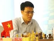 越南选手黎光廉首次夺得亚洲象棋冠军