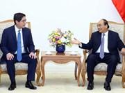 越南政府总理阮春福会见菲律宾顶峰控股公司总裁吴诗农