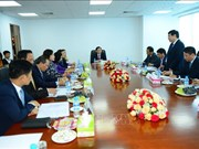 越南政府副总理王廷惠会见缅甸计划和财政部部长梭温