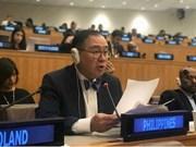 菲律宾外交部长感谢越南救助菲律宾海上遇险渔民