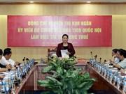 越南国会主席阮氏金银莅临国家税务总局调研
