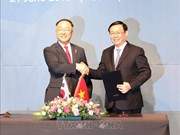 越韩副总理级经济合作对话第一次会议在首尔召开