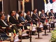 东盟高层领导会见ASEAN-AIPA、ASEAN Youth 和 ASEAN-BAC代表
