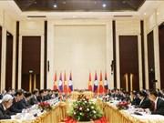 越南政府副总理郑廷勇访问老挝