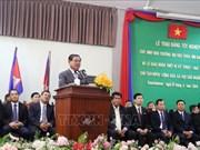 柬埔寨副首相萨肯对越南所向该国教育事业提供援助表示感谢