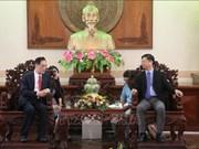 中国希望促进与越南芹苴市的农业合作