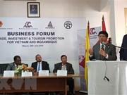 越南与莫桑比克促进贸易投资和旅游的合作