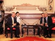 胡志明市愿与中国太平洋建设集团实现基础设施发展共赢合作