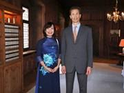 列支敦士登王储阿洛伊斯高度评价越南的国际地位