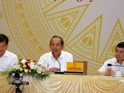 越南政府副总理张和平:坚决与敲诈勒索、贪污受贿等腐败现象作斗争