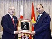 G20峰会:阮春福会见日越友好协会关西地区和堺市分会领导人