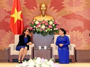 国会主席阮氏金银:为《越南与欧盟自由贸易协定》的生效实施做好准备