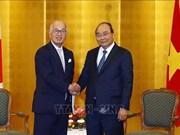 政府总理阮春福会见在越投资兴业的日本企业领导