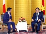 越南政府总理会见日本部分地方政府领导