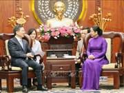 促进胡志明市与中国杭州市合作