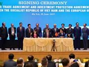 打开越南与欧盟的新合作阶段