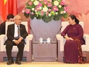 缅甸全国民主联盟高级代表团访问越南