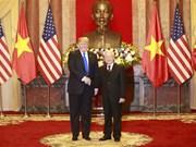 阮富仲就美国国庆243周年向美国总统特朗普致贺电