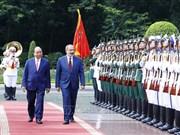 政府总理阮春福与亚美尼亚总理帕希尼扬举行会谈