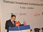 越南财政部长丁进勇:越英两国金融合作前景广阔