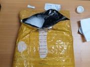 越南西宁省木牌口岸海关破获一起跨境毒品案  缴获毒品7千克